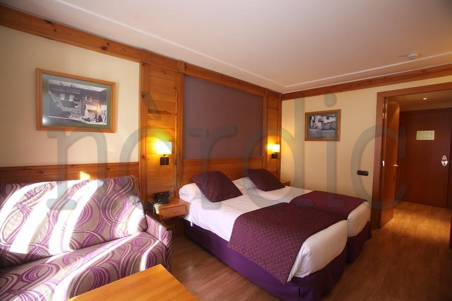 Habitación del Hotel Nordic