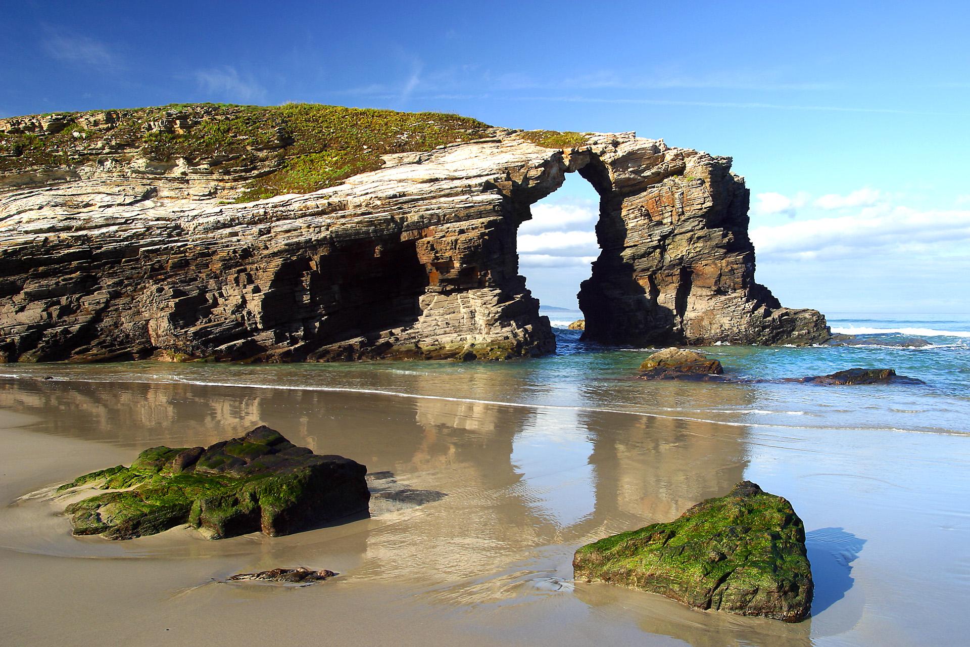 Galicia Auténtica Privada Playa De Las Catedrales Desde Santiago