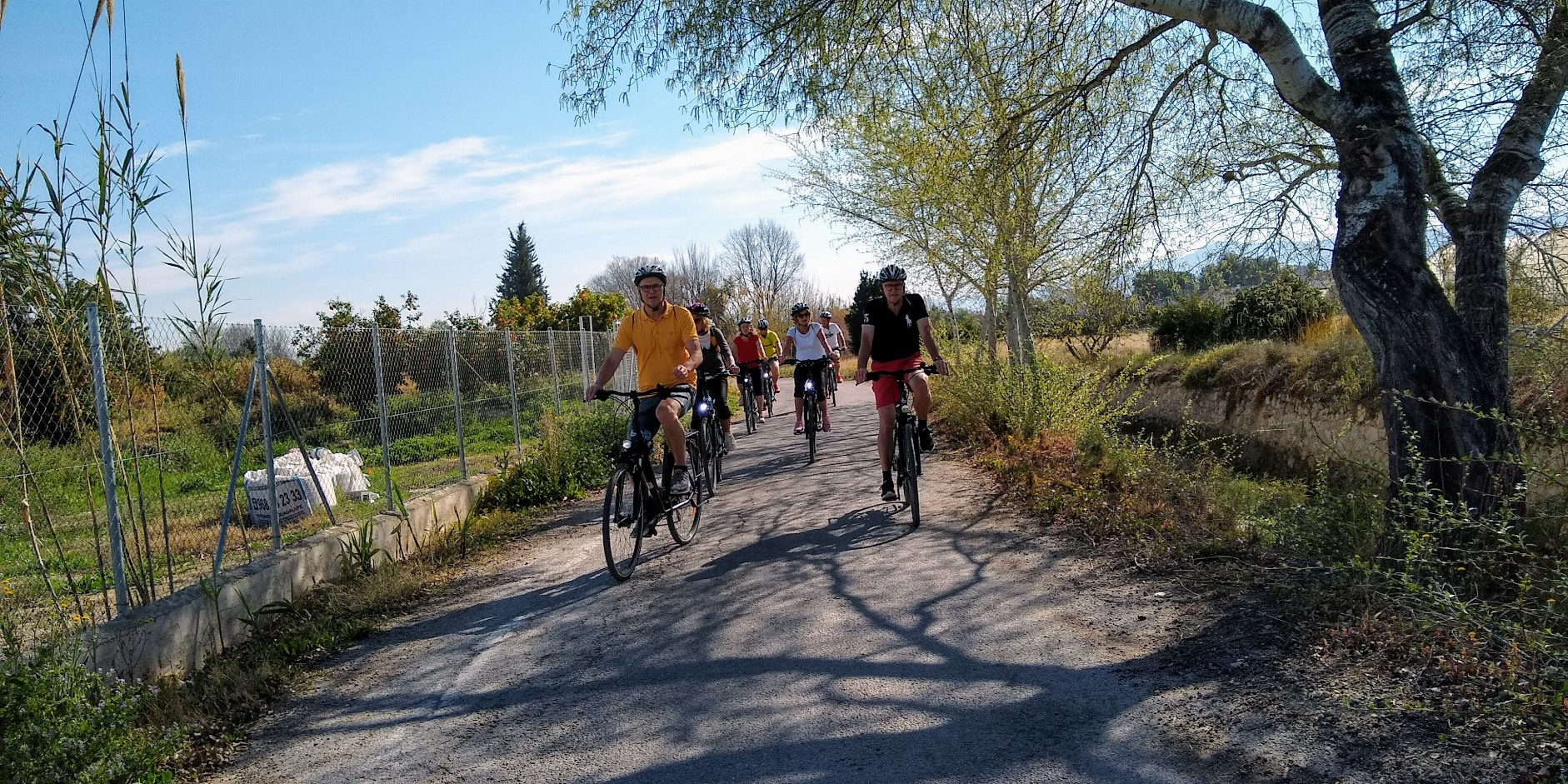 MURCIA'S ORCHARDS BIKE ROUTE + TAPA